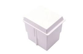 Storage Tub, Includes Hinge, Dividers, & Lid