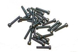 Screw, Socket Head, 2-56 x 1/2, Zinc; Pkg of 25