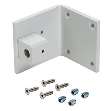 Pin Mount Bracket Kit, White