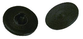 Plug, to fit A-dec Rigid Arm, Black; Pkg of 10
