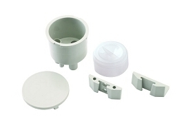 Vacuum Canister Kit, Gray