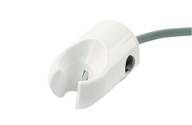 Holder, Auto HP, Molded, Normally Closed, White