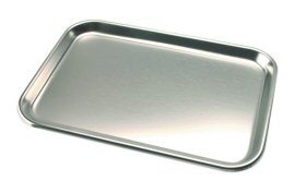 Tray, Stainless Steel, 9-3/4