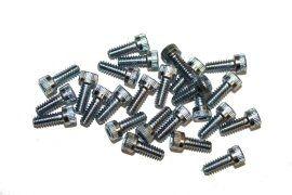 Screw, Socket Head, 6-32x3/8, Zinc; Pkg of 25