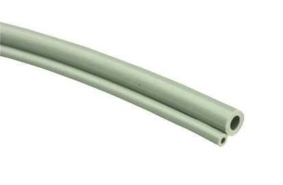 HP Tubing, 2 Hole oO, Coiled Gray