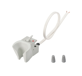 Holder, Electric Auto, Normally Closed, Gray