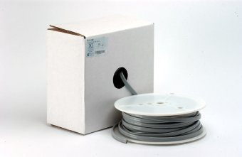 FC Tubing, 2 Hole, Vinyl Asepsis Gray