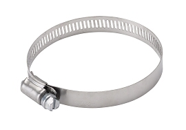 Hose Clamp, Stainless Steel, 1-1/4