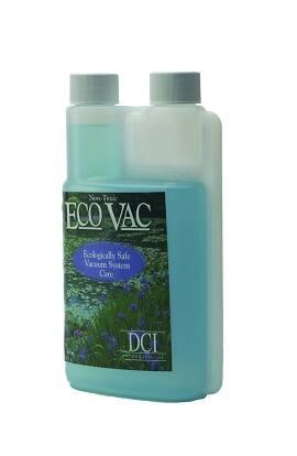 Vacuum System Cleaner Eco Vac 1/2 Gallon Bottle