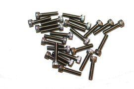 Screw, Socket Head, 4-40 x 1/2, Stainless Steel; Pkg of 25