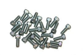 Screw, Socket Head, 1/4-20 x 5/8, Zinc; Pkg of 25