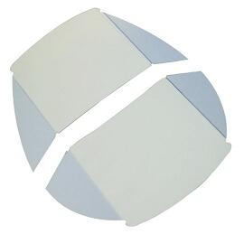 Pelton & Crane Light Shield, LF II; Pkg of 2