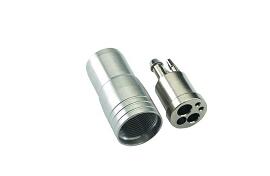 4-Hole HP Metal Connector & Metal Nut