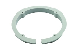 Foot Control Retaining Ring, Gray