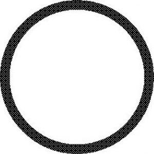 O-Ring,  Buna-n, .128 I.D. X .050 Width; Pkg of 12