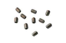 Setscrew, Socket, 6-32 x 3/16, Stainless Steel; Pkg of 10