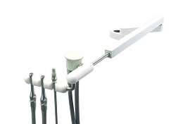 Telescoping Arm Assistants Instrum. Premium 3 Position Precision Comfort (2 HVE, SE) Anodized