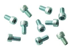 Screw, Socket Head, 6-32 x 1/4, Zinc; Pkg of 10
