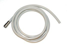 HP Tubing, 4 Hole w/CT, 12 ft, Asepsis Straight Gray