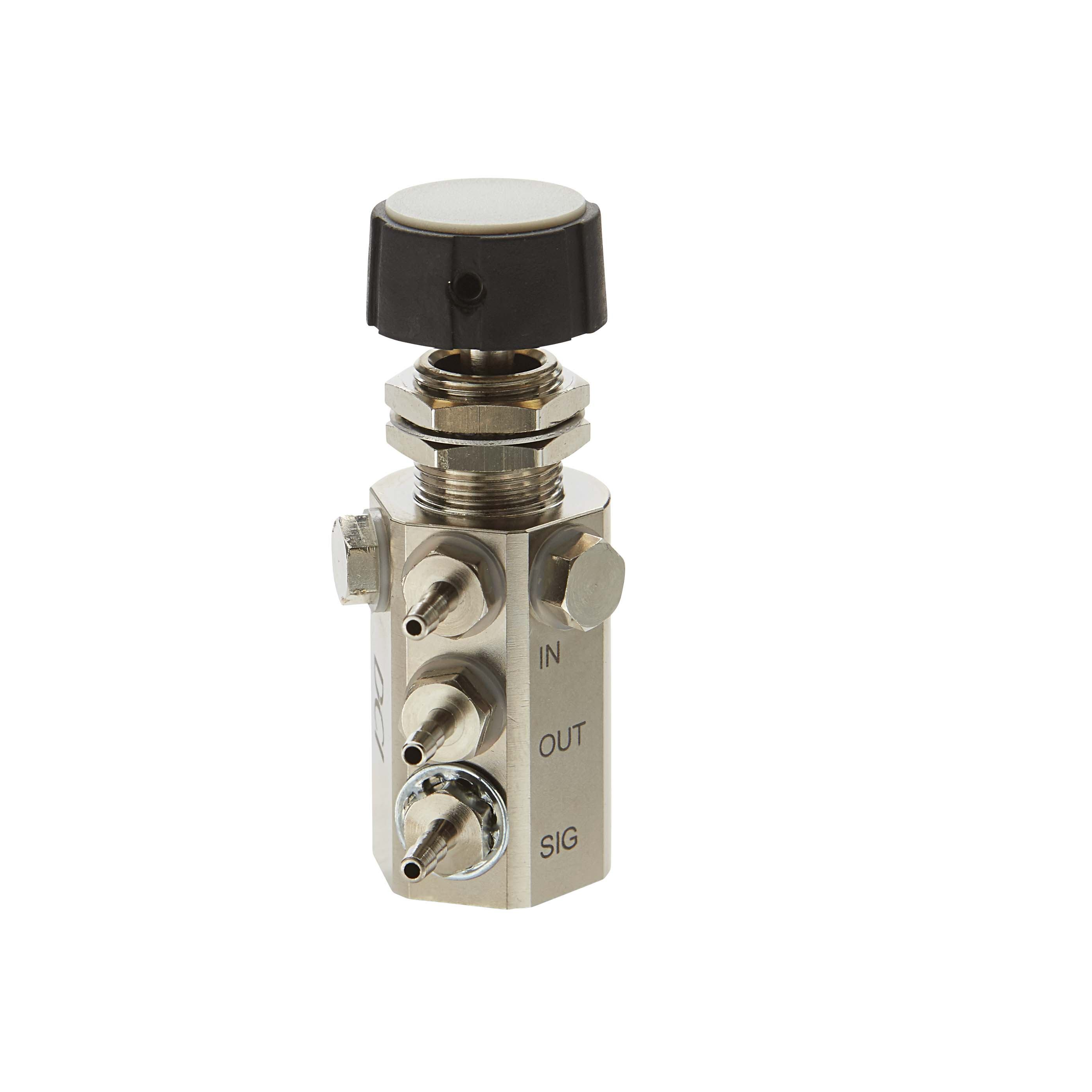 Water Relay Combo Valve with Black Knob
